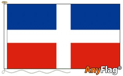 - DOMINICAN REPUBLIC  NO CREST ANYFLAG RANGE - VARIOUS SIZES